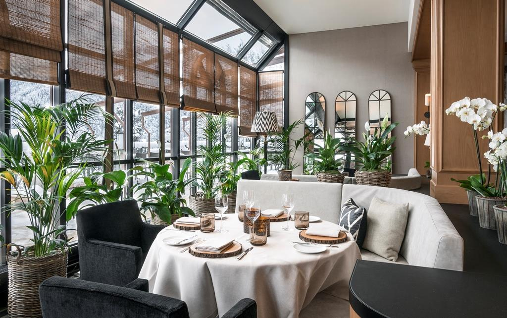 restaurant avenue montagne park gstaad